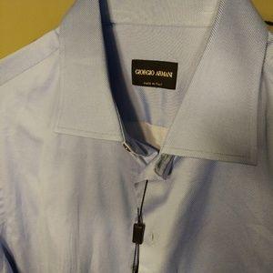 Giorgio Armani Men's Dress Shirt Size 16 34/35